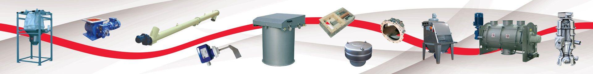 Mischtechnik und Schüttguttechnik Kaldewey